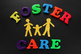 Foster Care awareness graphic.