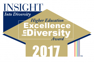 Insight into Diversity 2017 Higher Education Excellence in Diversity Award.