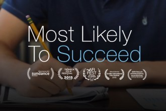 Most Likely to Succeed movie poster.