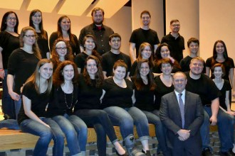 Photo of WMU music therapy students.