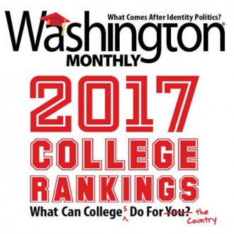 Washington Monthly 2017 College Rankings: What can colleges do for the country?