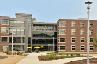 Photo of Western Heights residence hall.