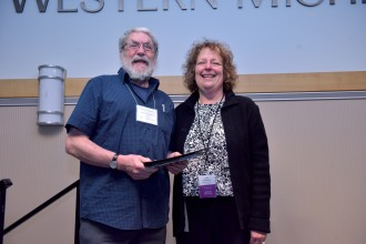 Photo of Richard Firth Green and Dr. Jana K. Schulman.