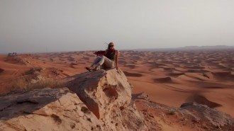 WMU student in United Arab Emirates