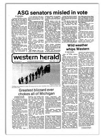 Screenshot of 1978 edition of the Western Herald newspaper.