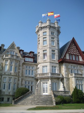 Palacio Real de la Magdalena in Santander, Spain
