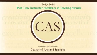 Part-Time Instructors Excellence in Teaching Awards