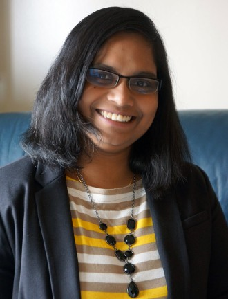 Physics doctoral student Samanthi Wickramarachchi