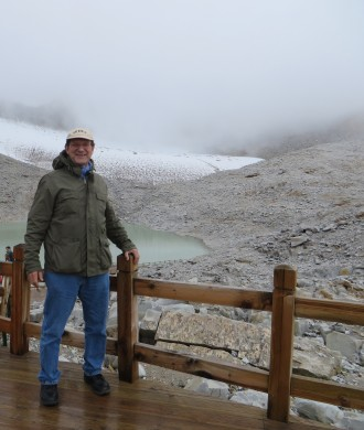 Dr. Gregory Veeck in northern China