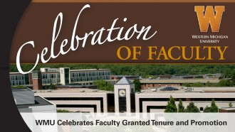 Celebration of faculty