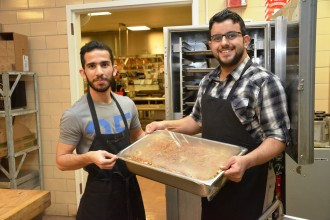 International students work with WMU Dining Services to offer cuisine from around the world.