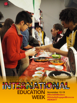 International Education Week includes Japan Festival where the Japan Club offers traditional food and cultural activities to the public for free.