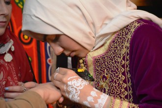 Attendees get to experience traditions from around the world including henna.