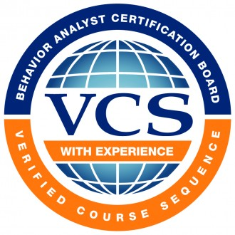 Behavior analyst certification board, verified course sequence, VCS with experience.