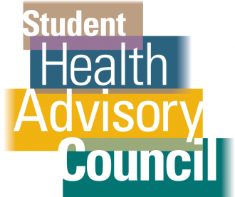 Student Health Advisory Council logo graphic