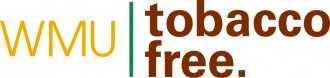 graphic of WMU tobacco free logo