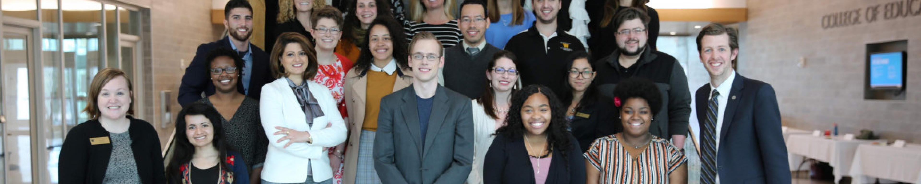 Photo of WMU Signature gradutes