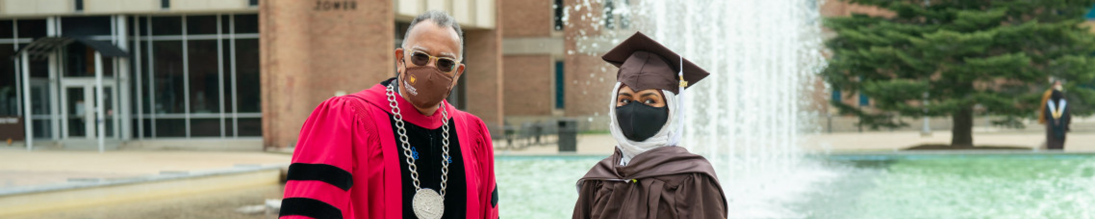 Graduate and President