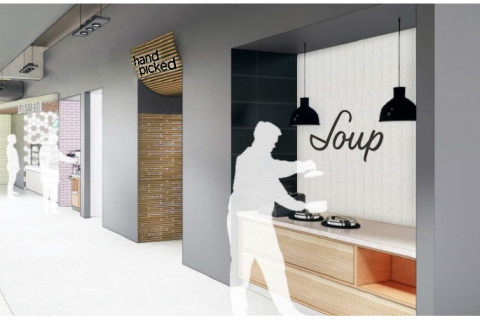 Rendering of Hand Picked and Soup