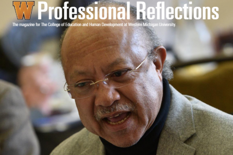 Cover of Professional Reflections magazine