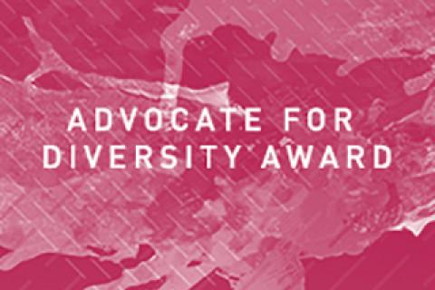 Advocate for diversity award