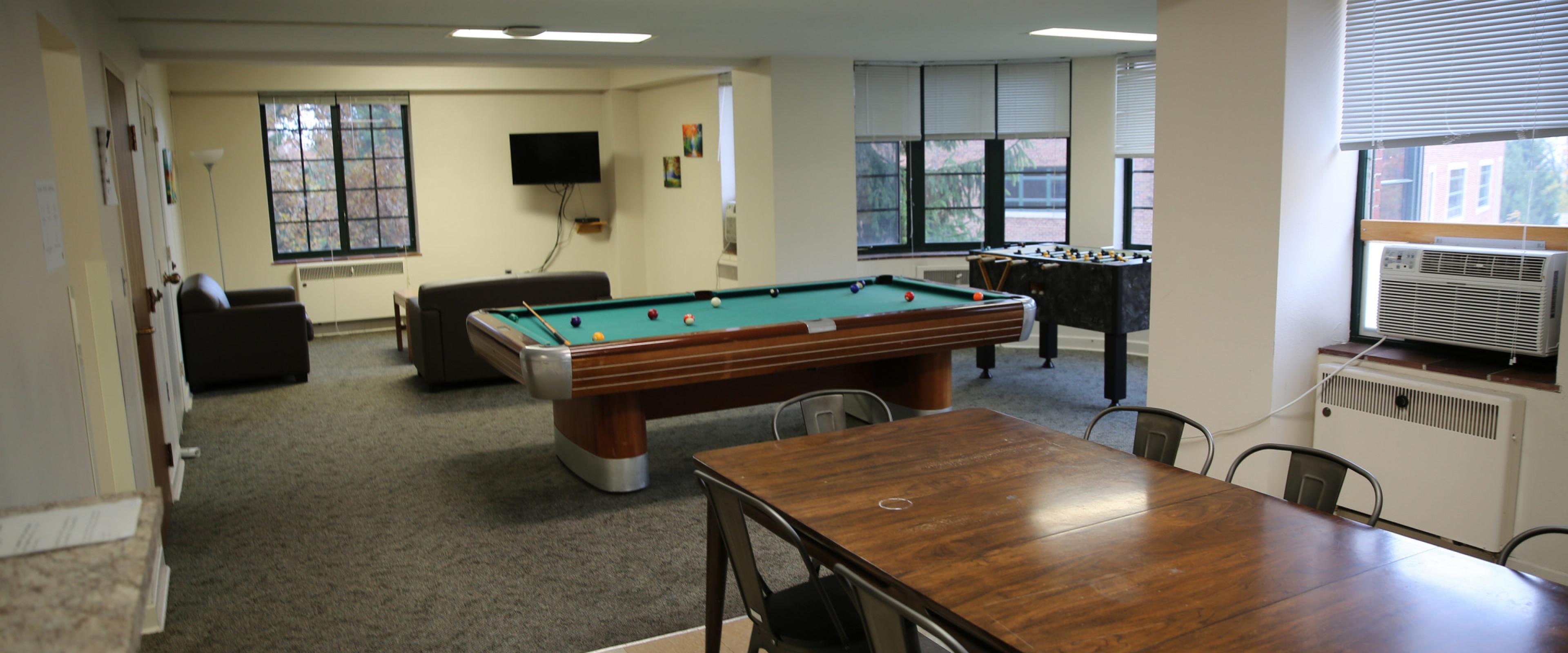 Spindler Game room