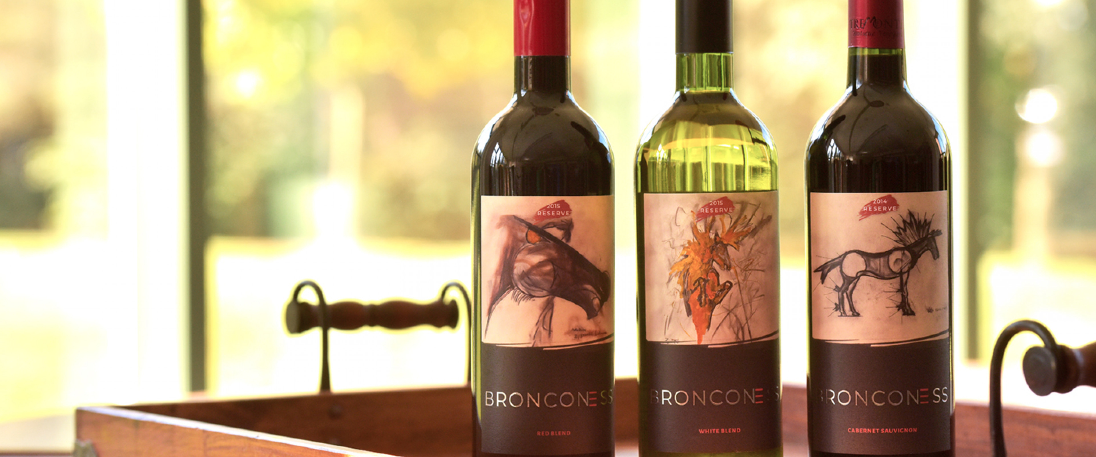 Pictured is the Bronconess wine set.