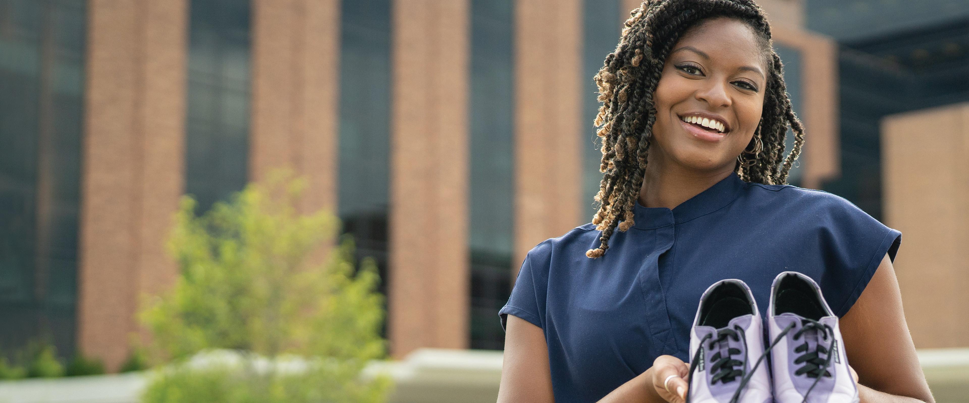 Kendall Owens, a nursing graduate
