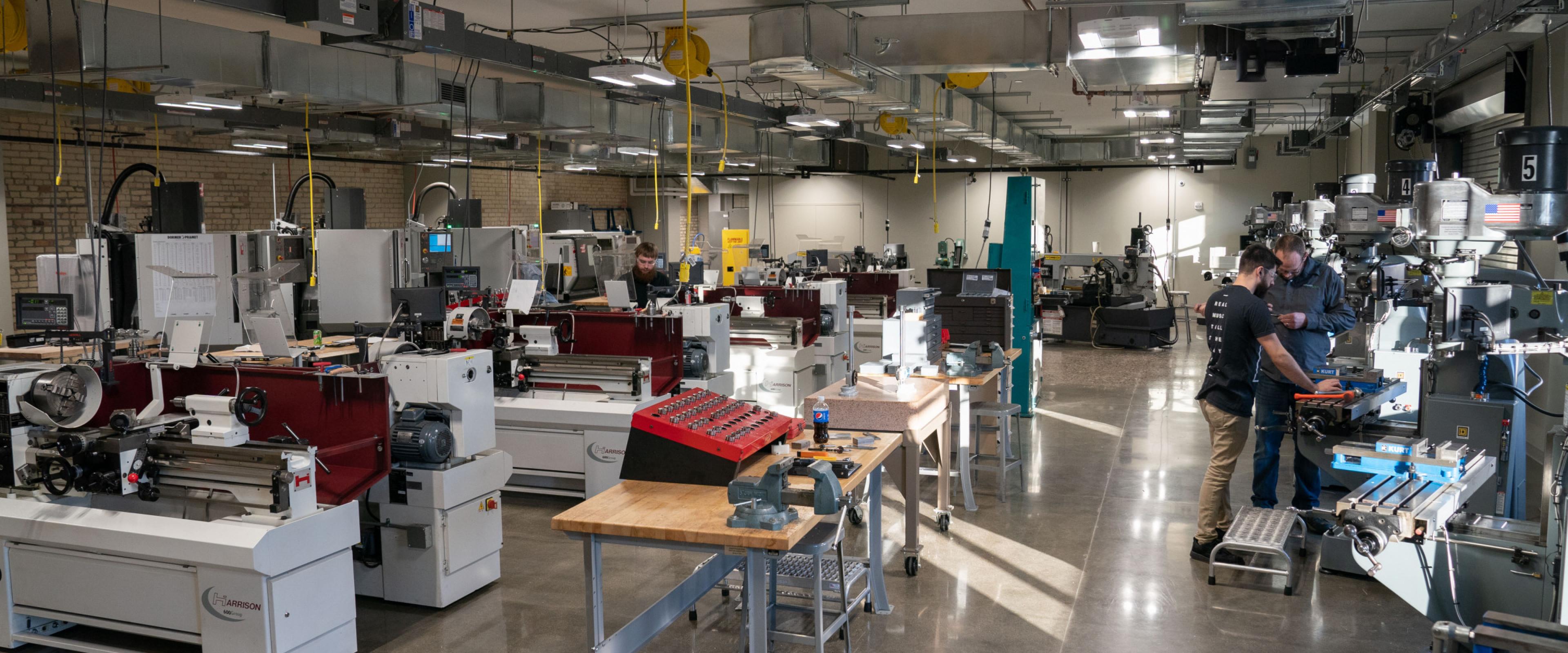Equipment at AMP Lab at WMU