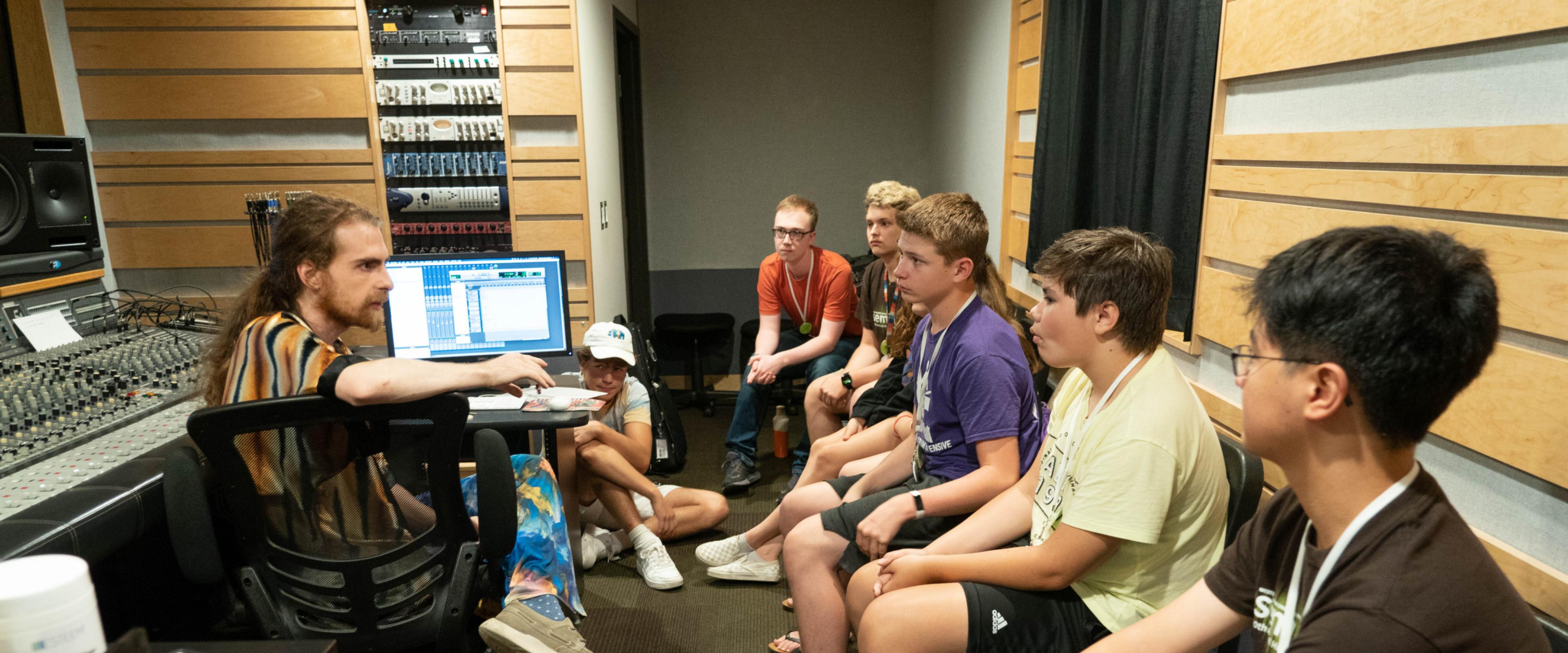 music tech class