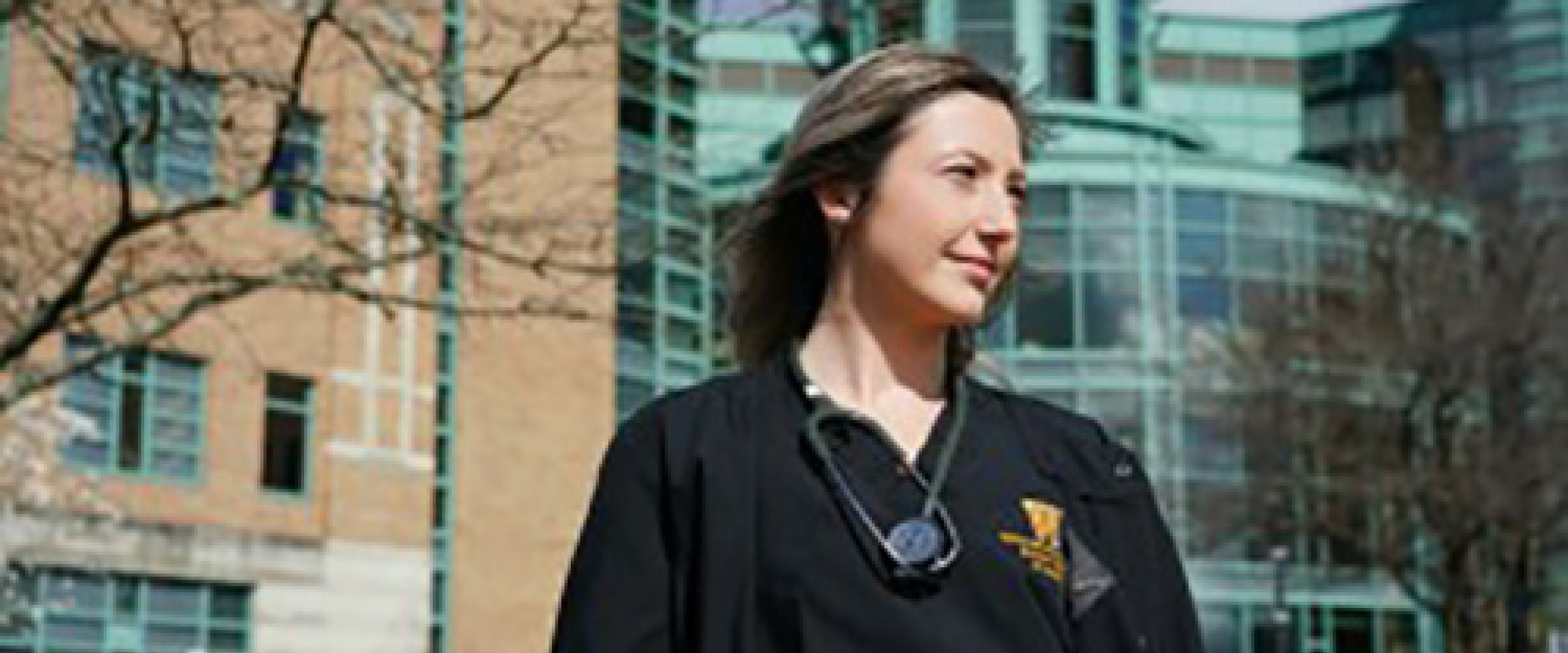 Nursing student Aubey