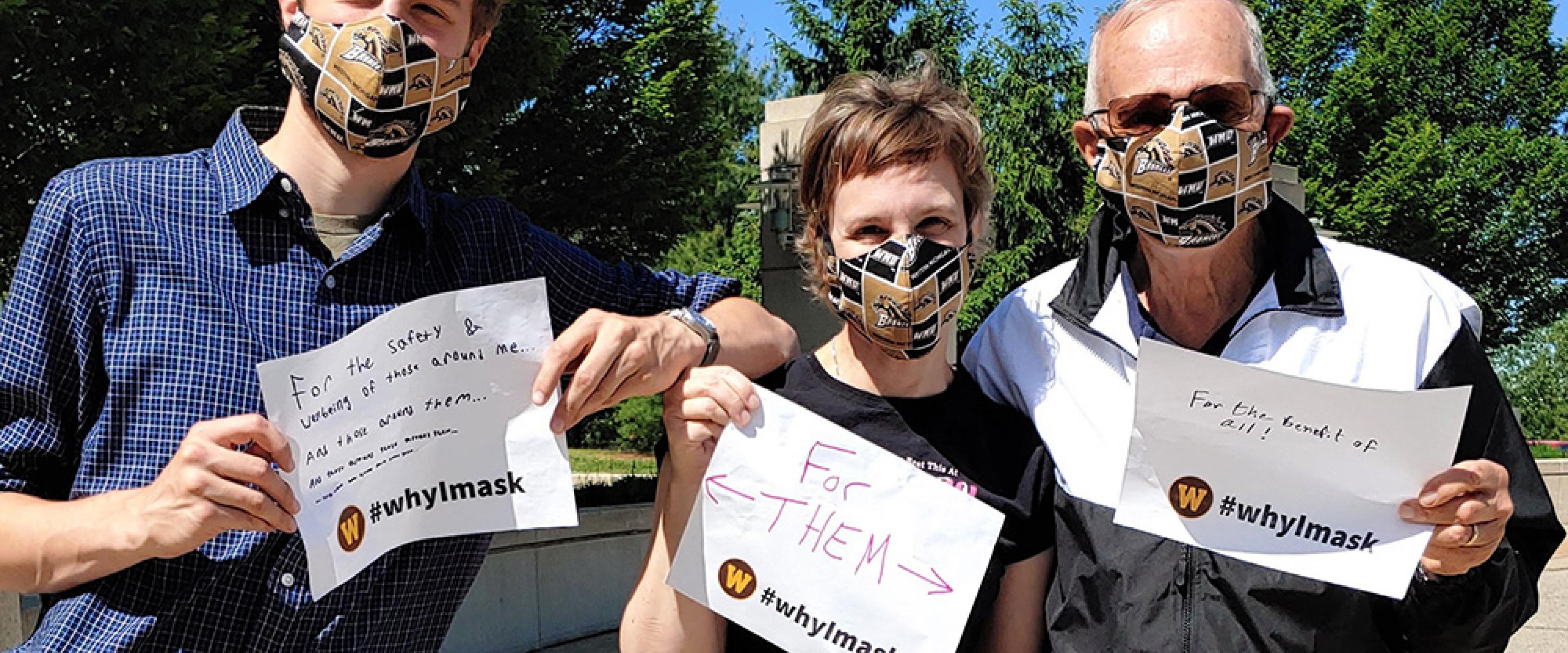 #whyImask