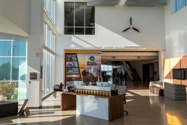 AEC lobby.