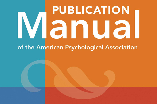 APA Publication Manual cover.