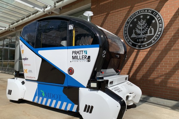 Autonomous vehicle research rolling onto WMU campus
