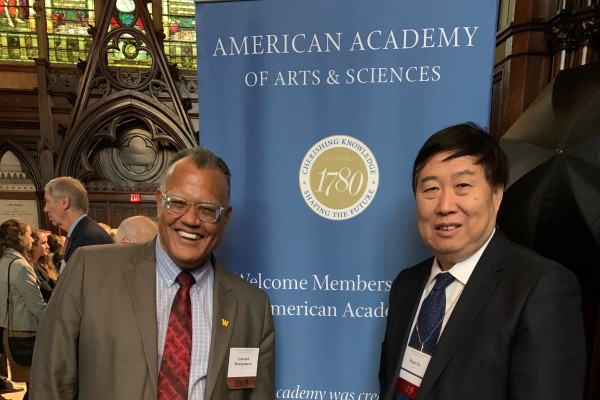 President Montgomery inducted into American Academy of Arts and Sciences