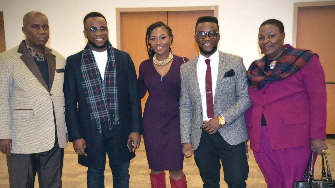 David Ajoku and Family