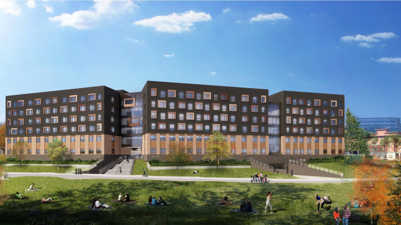 Arcadia Flats Housing Project Rendering