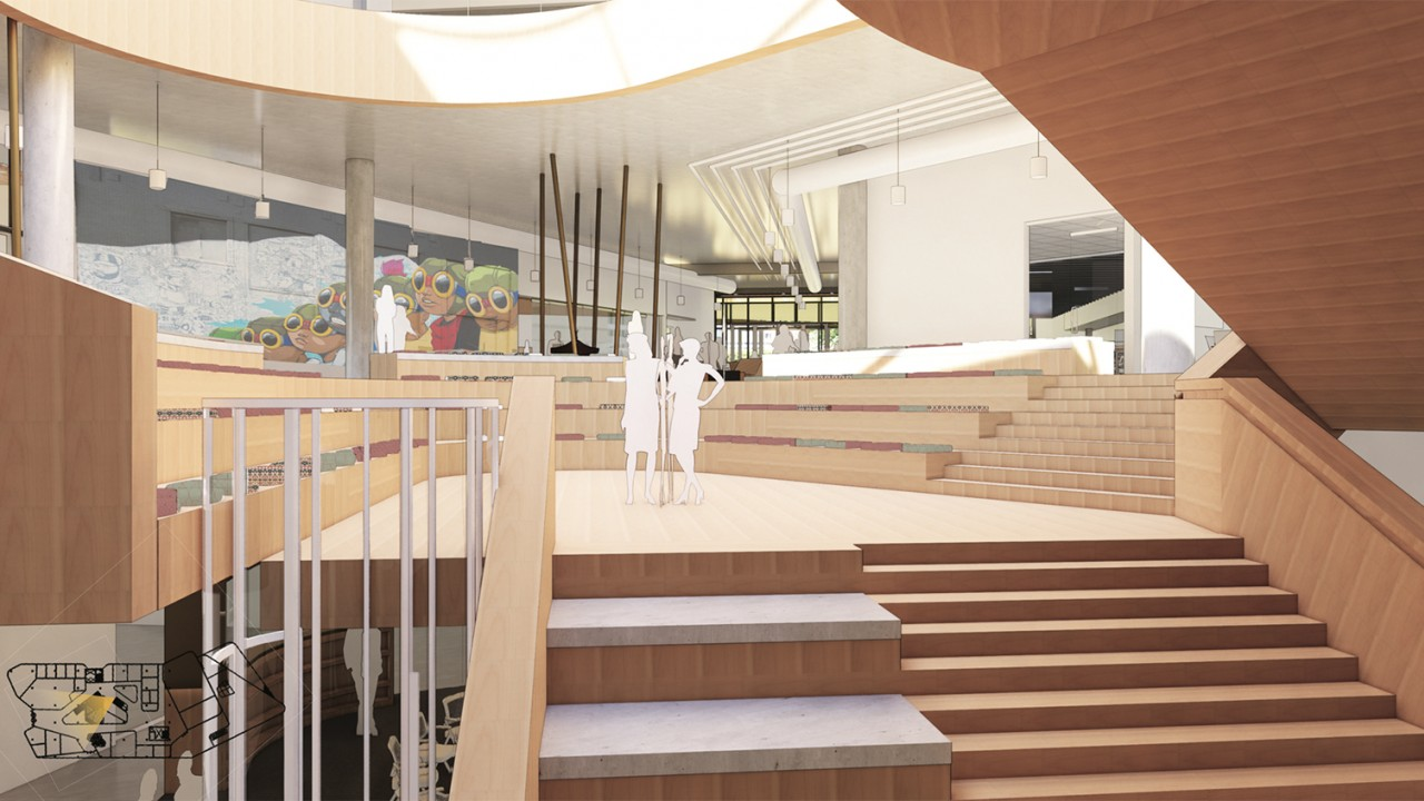 New Student Center interior concept