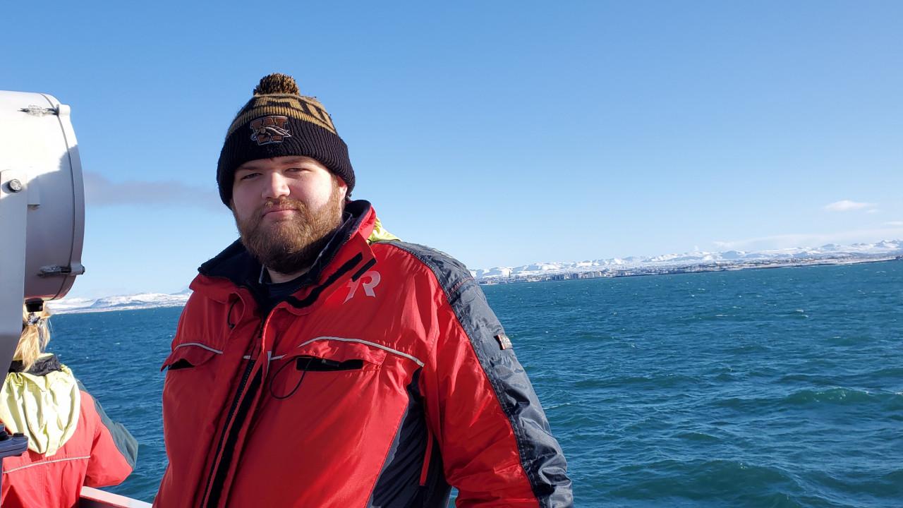 PSCI major James Ross in Iceland