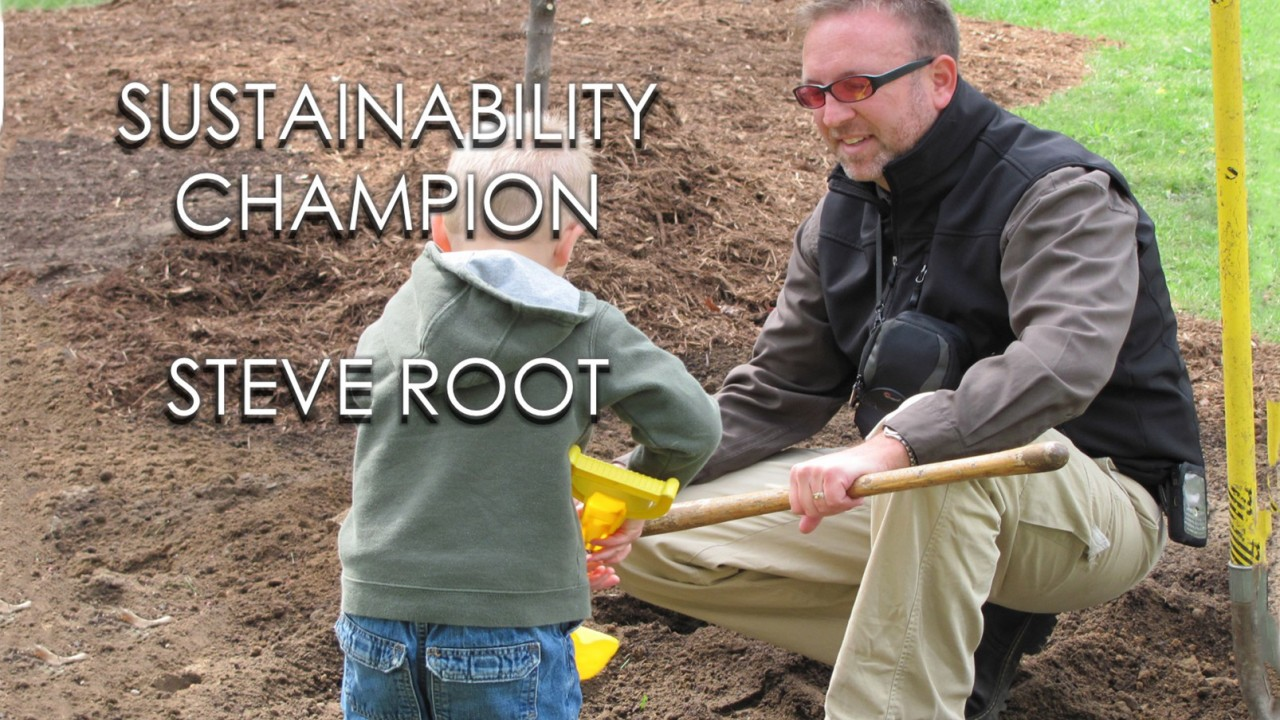 steve root sustainability champion