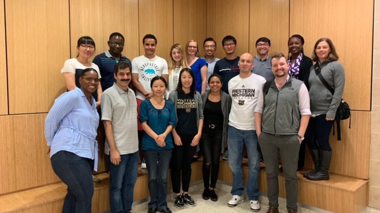 Doctoral and Graduate assistants in Sangren