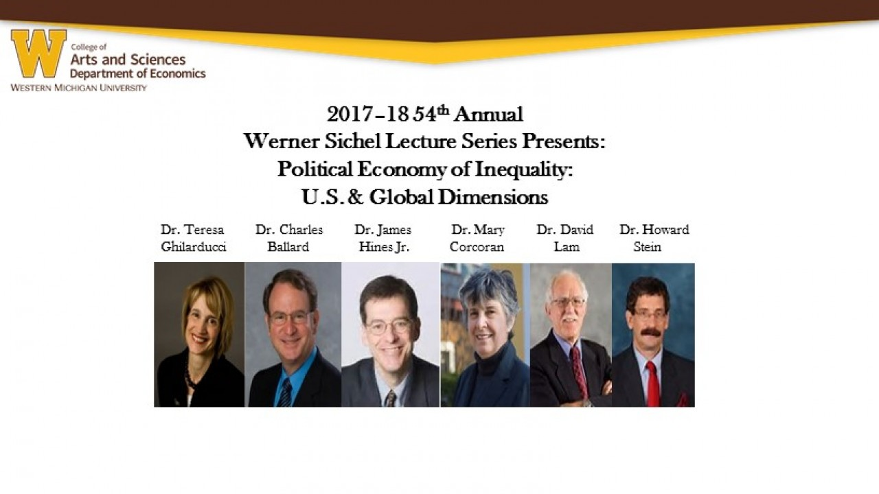 Six economists from around the world are part of the lecture series