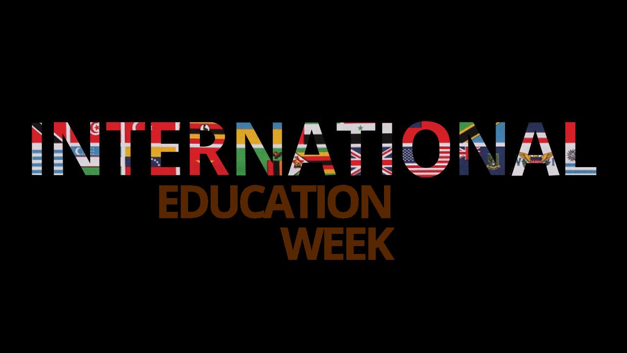 WMU's international education week logo