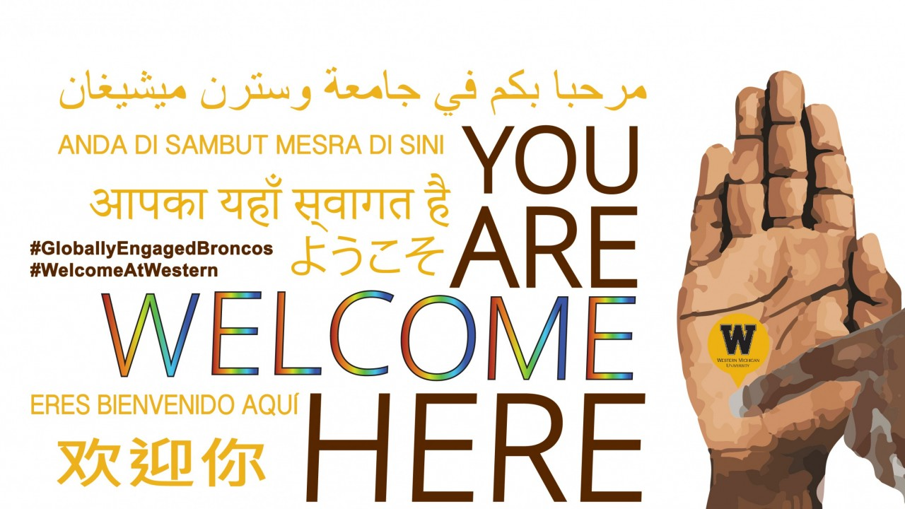 Western Michigan University is committed to being a welcoming and supportive place for everyone.