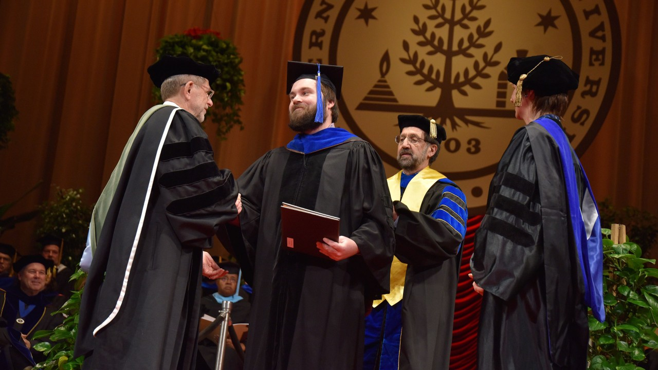 Graduating leaders in teaching and research in applied areas of environmental chemistry.
