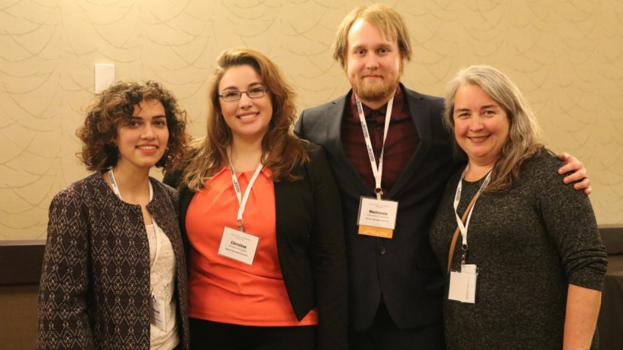 School of Communication graduate students at the 2019 Central States Communication Association conference