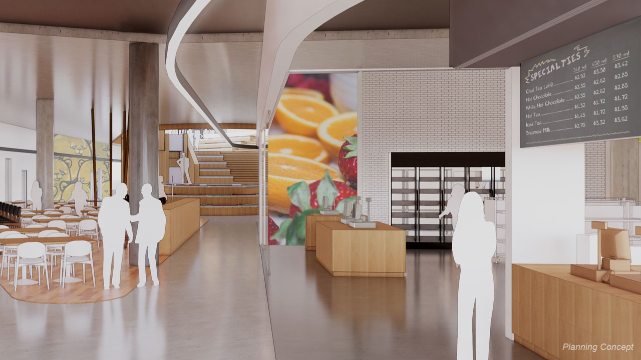 Retail dining concept image