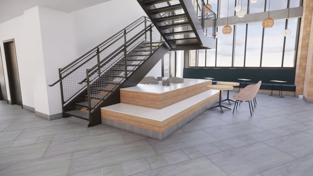 Arcadia Flats Stairway