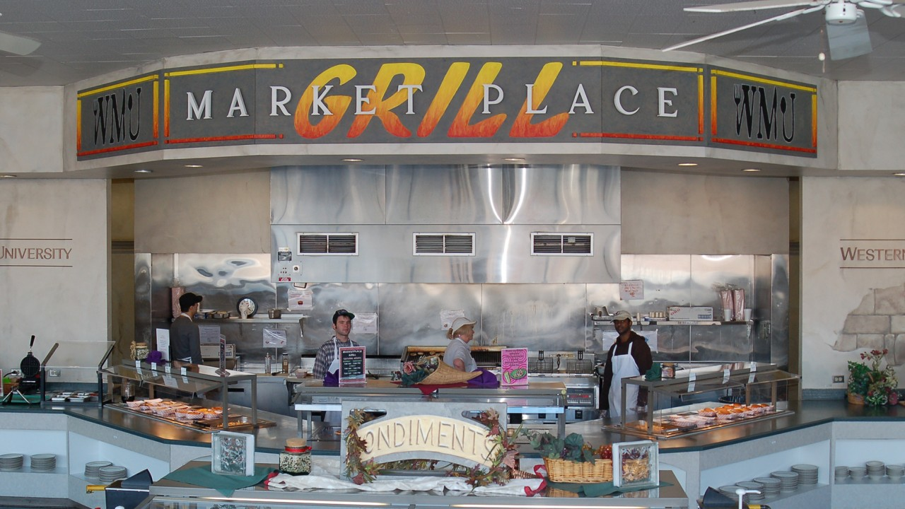 Front of Marketplace Grill